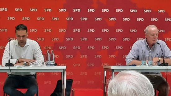 Bernd Westphal und Bernd Lynack leiten die Wahlkonferenz